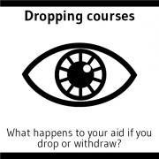 Dropping courses